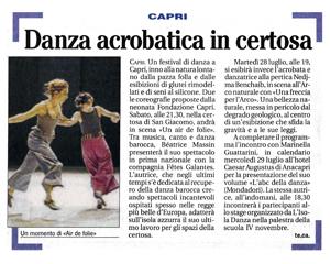 Il Mattino - Fondazione Capri